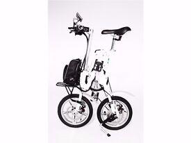 Brand New Electric Folding Bike Go Go Sprinter LS 15'5 MPH/ 35 Miles Battery Range LAST IN STOCK