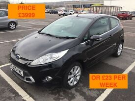 2009 FORD FIESTA 1.25 ZETEC / NEW MOT / PX WELCOME / LOW MILES / FINANCE AVAILABLE / WE DELIVER