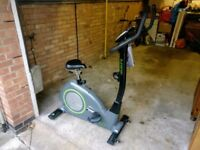 Elevation fitness EF1 exercise bike, with HRM and multiple training modes