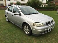 2000 Vauxhall Astra 4 doors, 10 month MOT, genuine miles,manual,like VW,ford,audi,honda,toyota,volvo