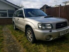 Subaru Forester XTeN 2005 2.5 Turbo - needs repair - parts included.