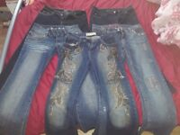Womens jeans bundle size 10 (5 pairs)