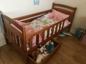 Bunk Bed with with foam mattresses