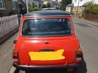 Classic 1983 Austin mini for sale
