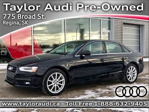 2014 Audi A4 2.0 Progressiv NAVIGATION, KEYLESS ENTRY, BLUETO...