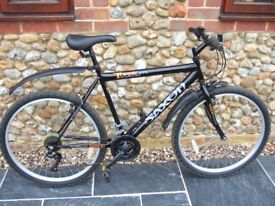 Black Saxon Mountain Bike/Cycle - only used twice