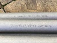 8 Climaflex 35-13 Pipe Insulation Foam 2m lengths