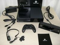 Xbox One (Day One Edition with kinect) - Boxed and in Perfect Working Condition