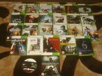XBOX 360 GAMES £2 EACH OR JOB LOT