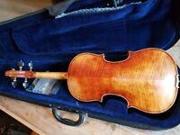 Beautiful hand made 4/4 violin