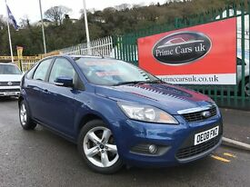 2008 (08 reg) Ford Focus 1.6 Zetec 5dr Petrol 5 Speed Manual Low Miles