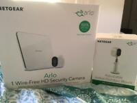 Arlo HD security camera kit and accessories