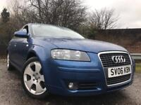 Audi A3 Sport Long Mot No Advisorys Low Mileage Service History Belt And Pump Done With Receipts !!!