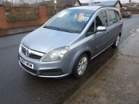 VAUXHALL ZAFIRA 1.6 LIFE WITH SERVICE HISTORY NEW TIMING BELT /HEATERS