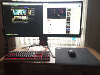 Asus ROG swift PG348 34 ultrawide 1440p 100hz GSYNC monitor