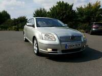 Toyota Avensis T4 petrol manual 1.8 service history long MOT one owner from new