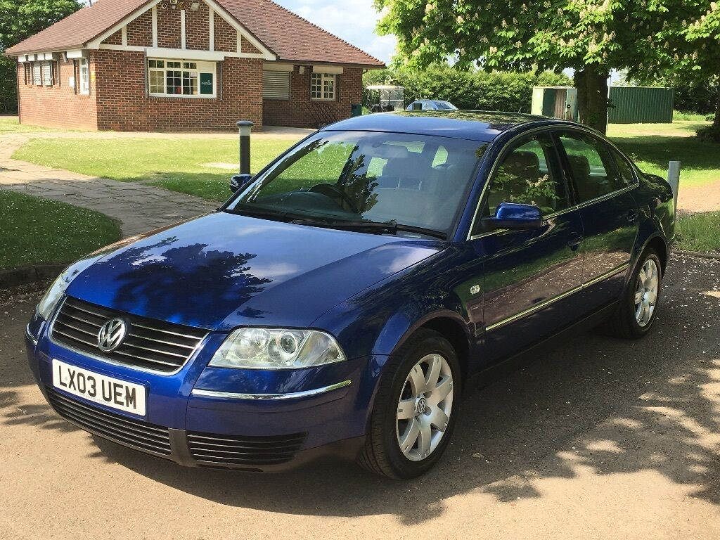 vw passat 1 9 tdi sport 2003 03 reg with full service history in slough berkshire gumtree. Black Bedroom Furniture Sets. Home Design Ideas