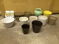 A LOVELY SELECTION OF PLANT POTS!!