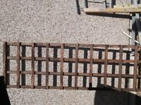 Trellis Wooden Heavy Duty Hand Made
