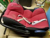 Maxi Cosi Baby Seat / Baby Carrier