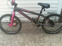 BOY OR GIRLE BIKE APOLLO BMX 20 inch wheels and tyres £55 ovno