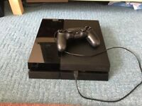 SONY PLAYSTATION 4 PS4 500GB JET BLACK CONSOLE