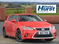 Lexus CT 200H ADVANCE PLUS (red) 2016-04-19