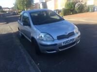 2003 Toyota Yaris 1 litre with 10 months MOT