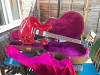 Gibson Es 335 cherry red 1997