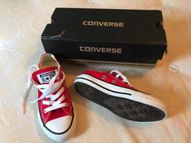 Brand new child size 11 converses excellent Christmas gift