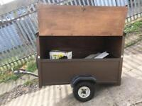5ft x3ft box trailer camping