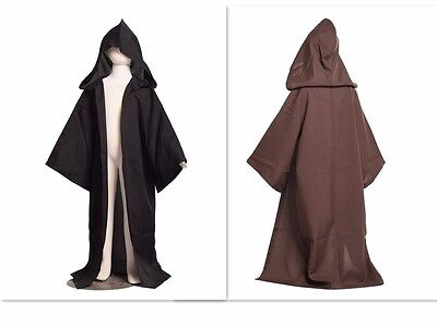 KIDS STAR WARS Jedi/Sith Robe Darth Vader Hooded Cloak Nice Child Cosplay Cape](Kids Jedi Costume)