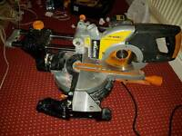 Evolution Rage 3 Heavy Duty Mitre Saw Multipurpose 255mm Sliding Perfect Working Order £90 ONO