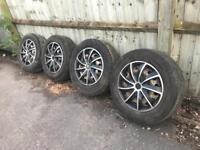 Trafic, vivaro wheels with tyres
