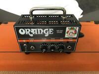 Orange micro dark guitar valve head amp
