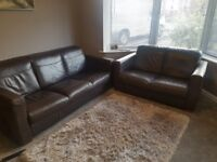 2 seat and 3 seater sofas