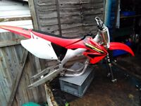 Crf 450 project