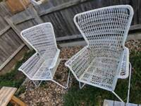 Weathered Garden chairs and benches free delivery