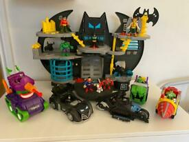 Huge Batman imaginext bundle