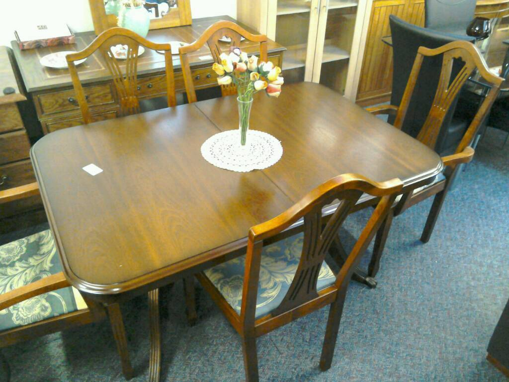Dining room table with six chairs #29787 £100