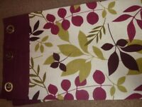 2 sets of curtains from Dunelm with eyelets