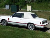 Dodge 400 Convertible ( K- CAR ) 1983...$2300.