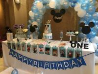 Party decorator/balloon decorations/event decorator/affordable/cheap/birthday/baby shower parties