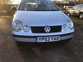 VOLKSWAGEN POLO TWIST 5 DOOR HATCHBACK 1390cc (2003) PETROL