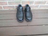 Footjoy Contour black waterproof golf shoes - Size 11