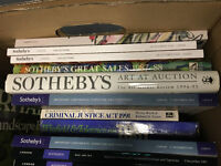 Sotheby's catalogues and books for sale