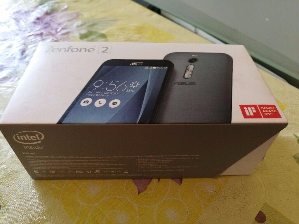 Asus Zenfone 2 Ze550ml 4g Dual Sim 16gb Free Unlocked Black Used Smartphone
