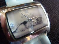 Keith Kimberlin ladies/childs watch with cats.