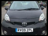 TOYOTA AYGO 1.0 VVT-i Black 3dr**IDEAL FIRST CAR** DRIVES LOVELY**65+MPG** (black) 2009