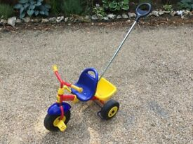 Kettler Tricycle with handle